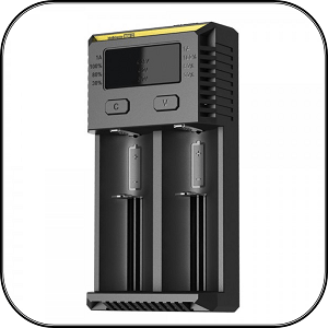 NiteCore i2 Vape Battery Charger