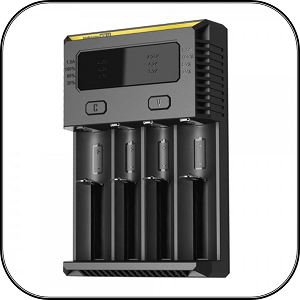 NiteCore i4 Vape Battery Charger