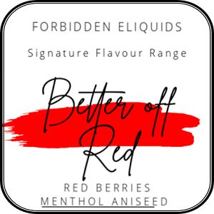 Better off Red by Forbidden 50ml
