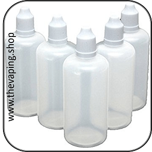 Eliquid Dropper Bottles 10ml to 100ml