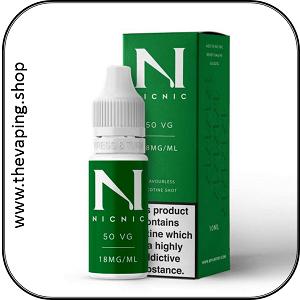 50VG Nicotine Shots