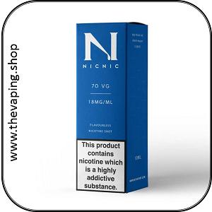 Nic18 70VG Nicotine Shot 1