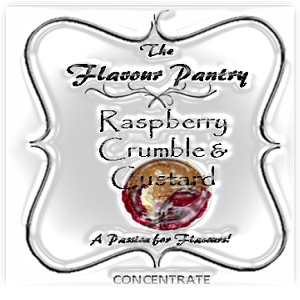 Raspberry Crumble Custard by The Flavour Pantry 2
