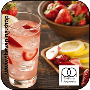 Strawberry Lemonade by The Flavor Apprentice