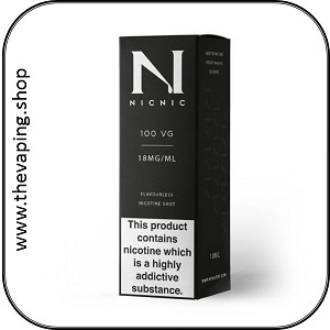 Nic18 PG Nicotine Shot 2