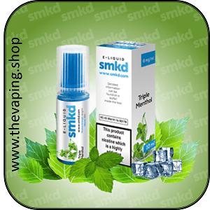 Triple Menthol Eliquid by SMKD 10ml