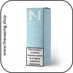 Nic18 70VG Ice Cool Nicotine Shots 2