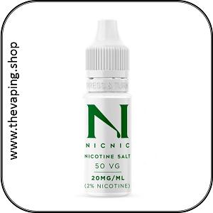 Nic20 Salt Nicotine Shots 3
