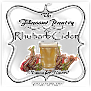 Rhubarb Cider by The Flavour Pantry 2