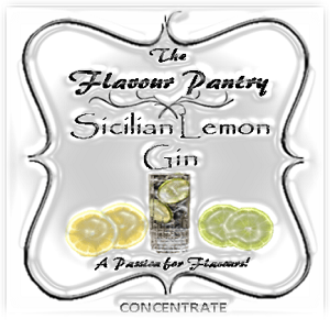 Sicilian Lemon Gin by The Flavour Pantry