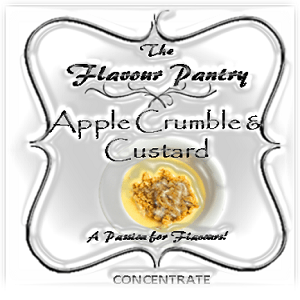 Apple Crumble Custard by The Flavour Pantry 2