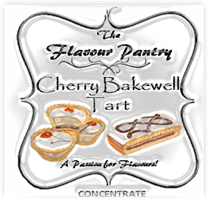 Cherry Bakewell Tart by The Flavour Pantry