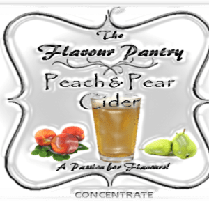 Peach and Pear Cider by The Flavour Pantry 2