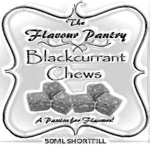 Blackcurrant Chews Shortfill by The Flavour Pantry