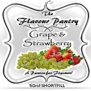 Grape and Strawberry Shortfill by The Flavour Pantry