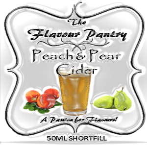 Peach and Pear Cider Shortfill by The Flavour Pantry 3